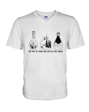 Get Out Of Town V-Neck T-Shirt thumbnail