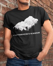 To The Mountains Classic T-Shirt apparel-classic-tshirt-lifestyle-26