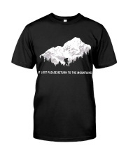 To The Mountains Classic T-Shirt front