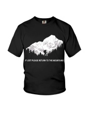 To The Mountains Youth T-Shirt thumbnail