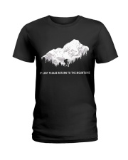 To The Mountains Ladies T-Shirt thumbnail