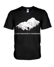 To The Mountains V-Neck T-Shirt thumbnail