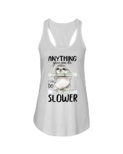 I Can Do Slower Ladies Flowy Tank thumbnail