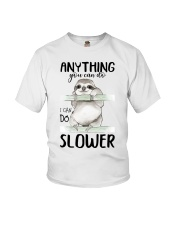 I Can Do Slower Youth T-Shirt thumbnail