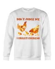 I Collect Chickens Crewneck Sweatshirt thumbnail
