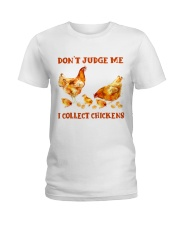 I Collect Chickens Ladies T-Shirt thumbnail