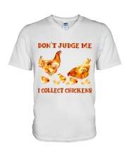 I Collect Chickens V-Neck T-Shirt thumbnail