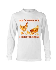 I Collect Chickens Long Sleeve Tee thumbnail