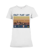 Crazy Plant Lady Premium Fit Ladies Tee thumbnail