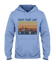 Crazy Plant Lady Hooded Sweatshirt front