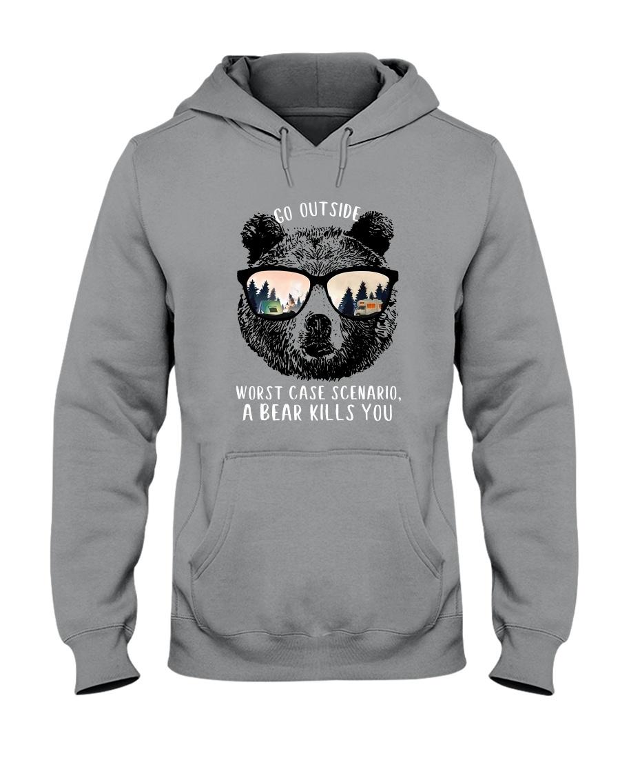 Go Outside 2 Hooded Sweatshirt