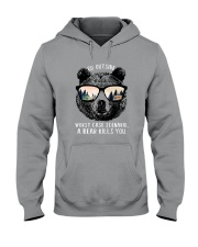 Go Outside 2 Hooded Sweatshirt front