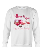 You Put Your Flamingos Crewneck Sweatshirt thumbnail