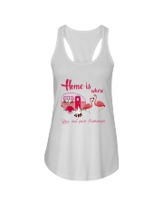 You Put Your Flamingos Ladies Flowy Tank thumbnail