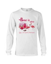 You Put Your Flamingos Long Sleeve Tee thumbnail