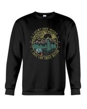 I Just Like Trees Better Crewneck Sweatshirt thumbnail