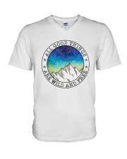 All Good Things V-Neck T-Shirt thumbnail