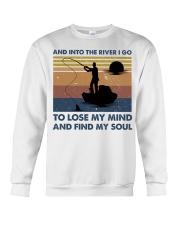 And Into The River I Go Crewneck Sweatshirt thumbnail