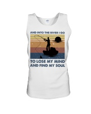 And Into The River I Go Unisex Tank thumbnail