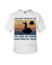 And Into The River I Go Youth T-Shirt thumbnail