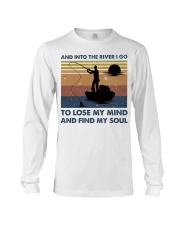 And Into The River I Go Long Sleeve Tee thumbnail