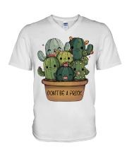 Dont Be A Prick V-Neck T-Shirt thumbnail