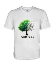 Stay Wild V-Neck T-Shirt thumbnail