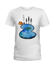 Go Camping Ladies T-Shirt tile