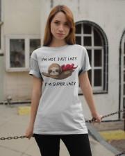 I Am Super Lazy Classic T-Shirt apparel-classic-tshirt-lifestyle-19