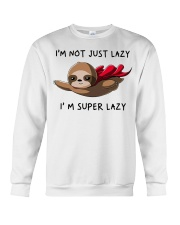 I Am Super Lazy Crewneck Sweatshirt thumbnail