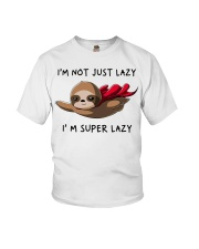 I Am Super Lazy Youth T-Shirt thumbnail