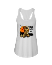Bear With Me Ladies Flowy Tank thumbnail
