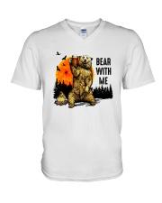 Bear With Me V-Neck T-Shirt thumbnail