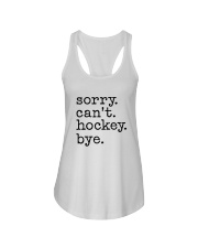 Sorry Can't Hockey Bye Ladies Flowy Tank thumbnail