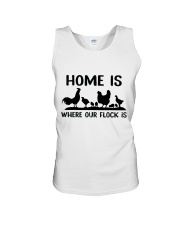 Home Is Where Our Flock Is Unisex Tank thumbnail