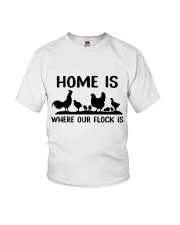 Home Is Where Our Flock Is Youth T-Shirt thumbnail