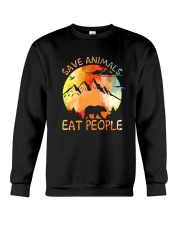 Save Animals Crewneck Sweatshirt thumbnail