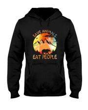 Save Animals Hooded Sweatshirt front