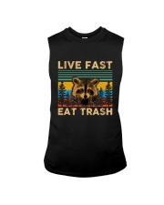Live Fast Eat Trash Sleeveless Tee thumbnail