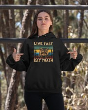 Live Fast Eat Trash Hooded Sweatshirt apparel-hooded-sweatshirt-lifestyle-05