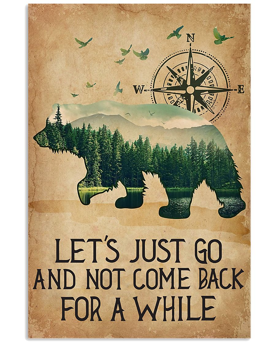 Lets Just Go 11x17 Poster