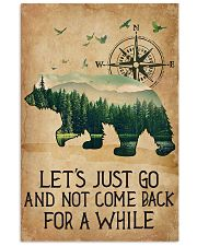 Lets Just Go 11x17 Poster front