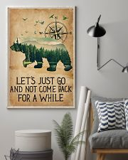 Lets Just Go 11x17 Poster lifestyle-poster-1
