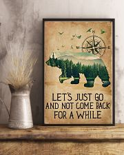 Lets Just Go 11x17 Poster lifestyle-poster-3