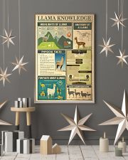 Llama Knowledge 11x17 Poster lifestyle-holiday-poster-1