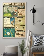 Llama Knowledge 11x17 Poster lifestyle-poster-1