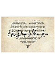 How Deep Is Your Love 17x11 Poster front