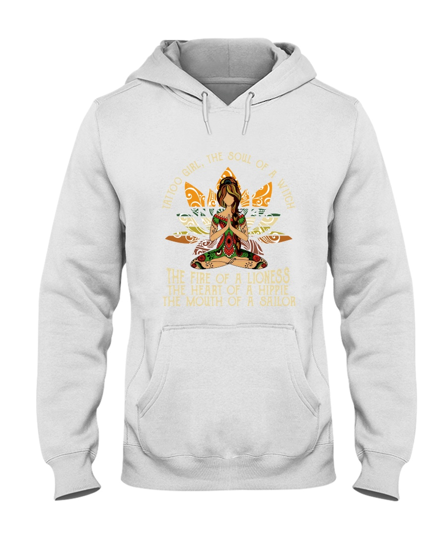 The Soul Of A Witch Hooded Sweatshirt