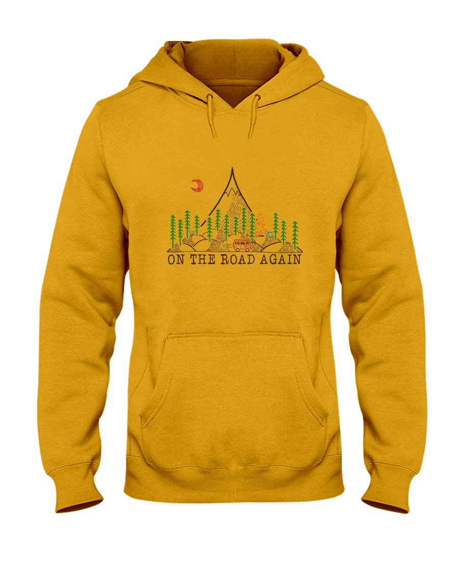 On The Road Again Hooded Sweatshirt