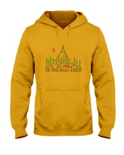On The Road Again Hooded Sweatshirt front